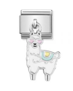 Nomination CLASSIC Silvershine Cool Llama Drop Charm 331805/14