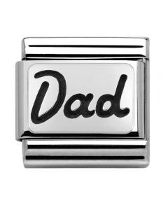 Nomination CLASSIC Silvershine My Family Dad Charm 330102/33