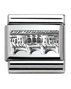 Nomination CLASSIC Silvershine Monuments Ponte Vecchio Charm 330105/13