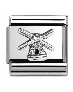 Nomination CLASSIC Silvershine Monuments Windmill Charm 330105/21