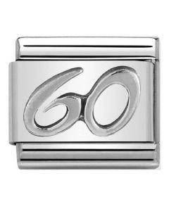 Nomination CLASSIC Silvershine Oxidised Symbols 60 Charm 330101/25