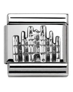 Nomination CLASSIC Silver Shine Monuments Milan Duomo Charm 330105/28