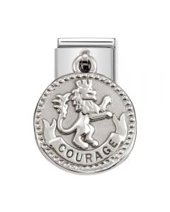 Nomination CLASSIC Silvershine Wishes Courage Charm 331804/17