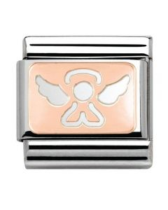 Nomination CLASSIC Rose Gold Angel Charm 430101/14