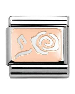 Nomination CLASSIC Rose Gold Cut Out Rose Charm 430101/13