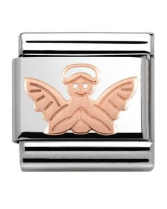 Nomination CLASSIC Rose Gold Plates Angel Charm 430104/14
