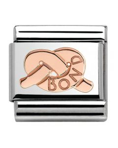 Nomination CLASSIC Rose Gold Knot OF Bond Charm 430101/25