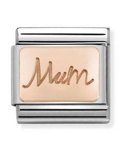 Nomination CLASSIC Rose Gold Plates Mum Charm 430101/34