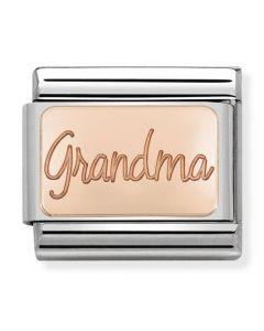 Nomination CLASSIC Rose Gold Plates Grandma Charm 430101/36