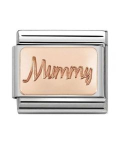 Nomination CLASSIC Rose Gold Plates Mummy Charm 430101/42