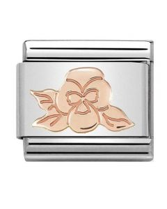 Nomination CLASSIC Rose Gold Violet Charm 430104/24