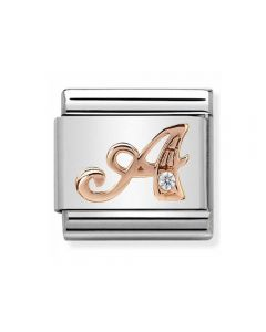 Nomination CLASSIC Rose Gold Letters A Charm 430310/01
