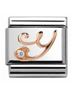 Nomination CLASSIC Rose Gold Letter Y Charm 430310/25