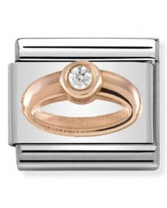 Nomination CLASSIC Rose Gold Symbols Ring Charm 430305/04