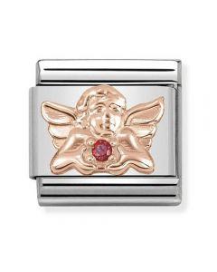Nomination CLASSIC Rose Gold Symbols Angel Of Love Charm 430302/21