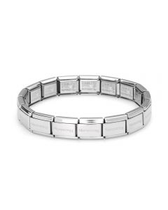 Nomination CLASSIC Stainless Steel 17 Link Bracelet 030000/SI 17X LINKS