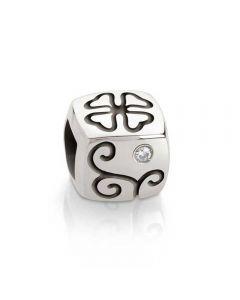 Nomination Cubiamo Luck Four Leaf Clover Cube Charm 161201/002