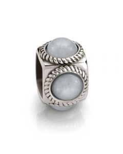 Nomination Cubiamo Jade Grey Cube Charm 163303/001