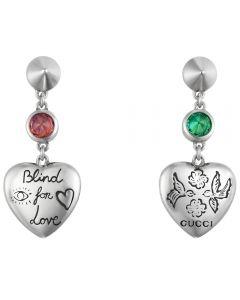 Gucci Blind 4 Love Drop Earrings YBD50216600100U