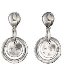 UNOde50 'Flake' Earrings PEN0384MTL0000U