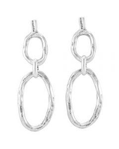 UNOde50 'Ropes' Earrings PEN0611MTL0000U