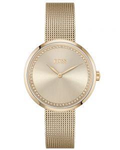 BOSS Ladies Praise Mesh Bracelet Watch 1502548