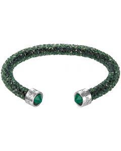 Swarovski Crystaldust Green Crystal Cuff Bangle