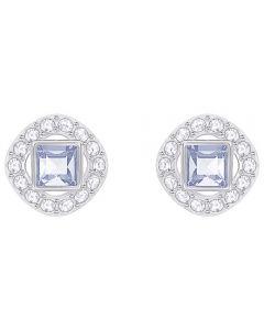 Swarovski Angelic Square Blue Earrings 5352048