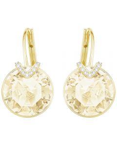 Swarovski Bella V Gold Tone Earrings 5353214