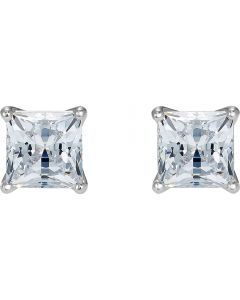 Swarovski Attract White Crystal Square Stud Earrings 5509936