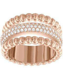 Swarovski Click Three Row Bobble Ring 5140092 52