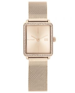 Tommy Hilfiger Ladies Tea Mesh Bracelet Watch 1782293