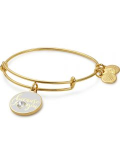 ALEX AND ANI Color Infusion Because I Love You Bangle A17EBBILUSG