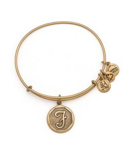 ALEX AND ANI Initial 'F' Charm Bangle A13EB14FG