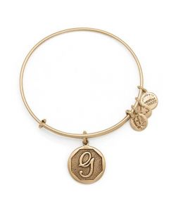 ALEX AND ANI Initial 'G' Charm Bangle A13EB14GG