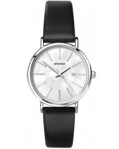 Sekonda Ladies Black Strap Watch 2548