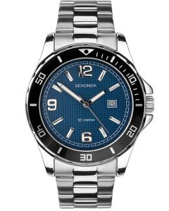 Sekonda Mens Stainless Steel Bracelet Watch 1512