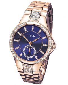Sekonda Ladies Seksy Rose Gold Plated Watch 2183