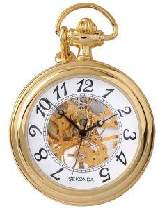 Sekonda Mens Open Case Pocket Watch 1110