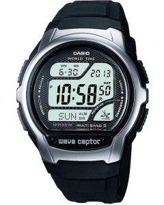 Casio CASIO Collection Wave Ceptor Digital Black Plastic Strap Watch WV-58U-1AVES