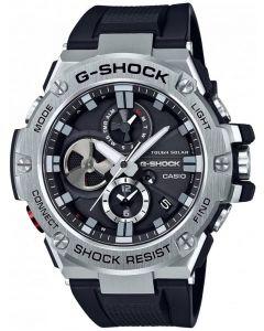 Casio G-Shock G-Steel Solar Dual Display Black Plastic Strap Smartwatch GST-B100-1AER