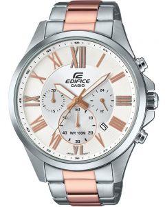 Casio Edifice Classic Chronograph Two Tone Bracelet Watch EFV-500SG-7AVUEF