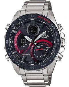 Casio Edifice Bluetooth Solar Red Bracelet Smartwatch ECB-900DB-1AER