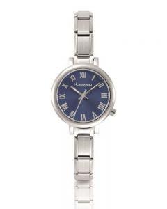 Nomination CLASSIC Paris Blue Sunray Dial Bracelet Watch 076010/005