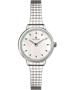 Accurist Ladies Mother Of Pearl Expandable Watch 8207