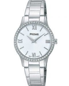 Pulsar Ladies Stone Set Bracelet Watch PM2171X1