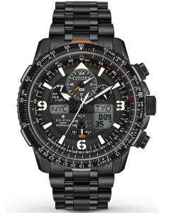 Citizen Mens Promaster Skyhawk A-T Black Bracelet Watch JY8075-51E