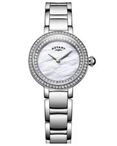 Rotary Stone Set Bracelet Watch LB05085/41