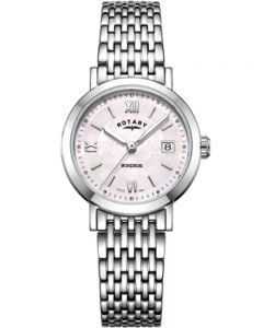 Rotary Ladies Windsor Mother Of Pearl Bracelet Watch LB05300/39