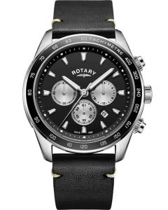 Rotary Mens Henley Chronograph Strap Watch GS05115/04